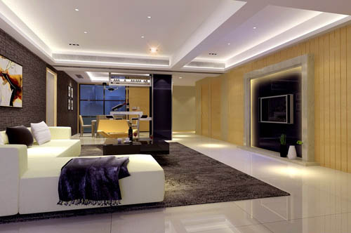 Living room -11, reception room, home space, model, 3D