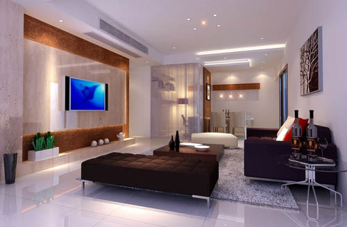 Living room -15, reception room, home space, model, 3D