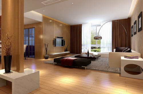 Living room -16, reception room, home space, model, 3D