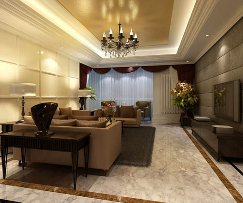 Living room -36, reception room, home space, model, 3D