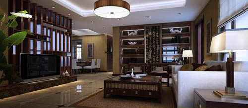 Living room -42, reception room, home space, model, 3D