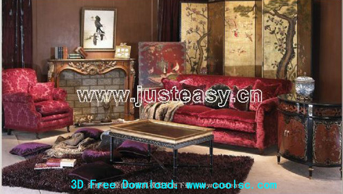 Classic luxury furniture -1, furniture, Furniture, 3D model