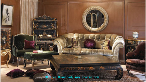 Classic luxury furniture -3, furniture, Furniture, 3D model