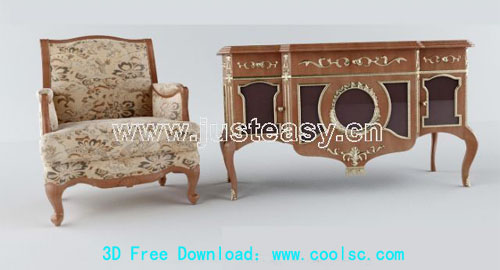 Continental chair cabinet, classical chairs, cabinets, wardr
