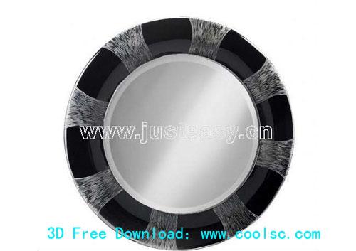 Bao Yang European neo-classical mirror, mirror, dressing tab