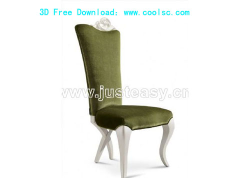 Bao Yang European neo-classical green chairs, chairs, furnit