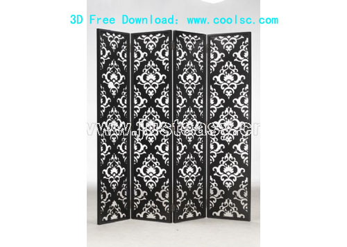 Link toBao yang wall panels, screens, furniture, 3d model