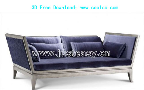 Bao Yang neoclassical Ocean bed, beds, furniture, 3D model