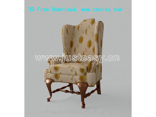 High back sofa, sofas, chairs, furniture, sofa, chair, 3D mo