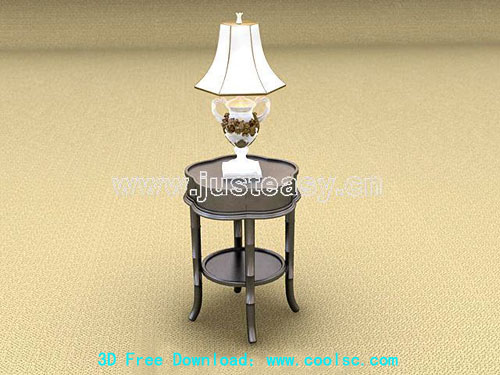 Point a few, lamps, furniture, 3D models, model download