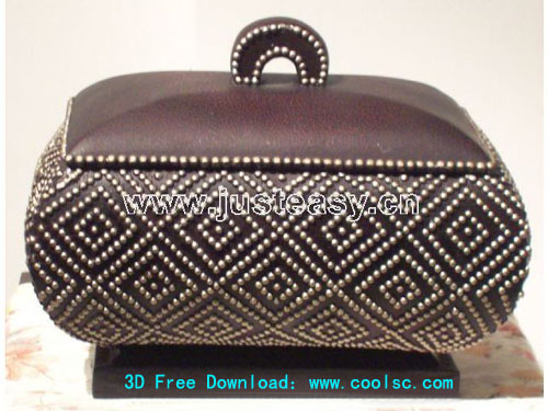 American Country jewelry box, box, Storage box, furniture, 3
