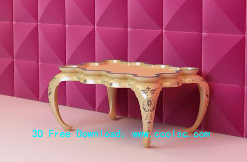 Bao Yang a few, coffee table, furniture, European, classical