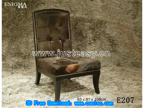 Ingmar sofa, chair, European-style, furniture, soft, model d