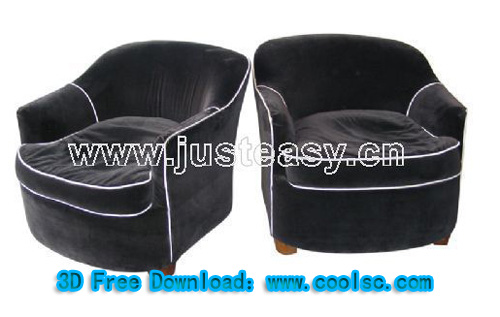 Leisure sofa, single sofa, sofa chair, furniture, model down
