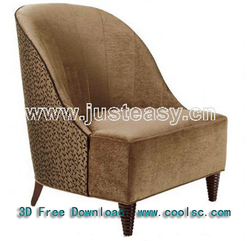Classic European-style single sofa, fabric sofa, sofa, furni