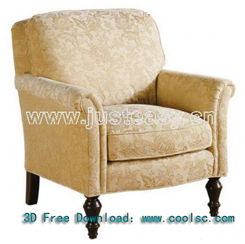 European classical fabric sofa -3, sofa, single sofa, fabric