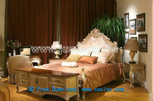 Ma Yun-odd furniture, bedding, furniture, double bed, model