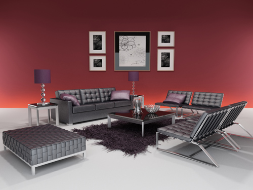Combination sofa, modern sofa, simple furniture, fashion sof