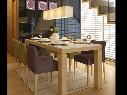 Dining table, dining tables and chairs, modern furniture, fa