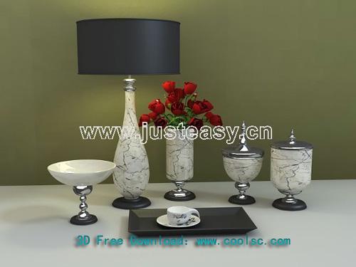 San Lu Ke Liu Jiantao European Romantica, porcelain, vases,