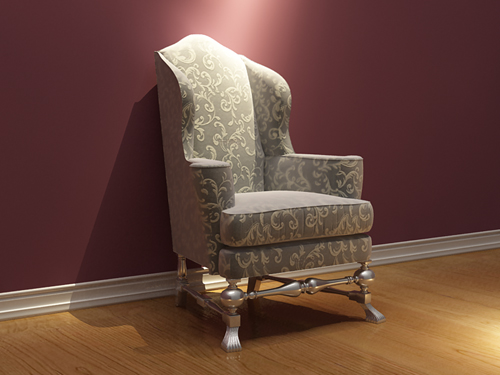 European leisure chair, sofa chair, European-style, furnitur