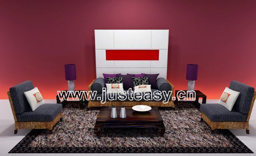 Genuine sofa combination sofa, fabric sofa, leather sofa, Fu