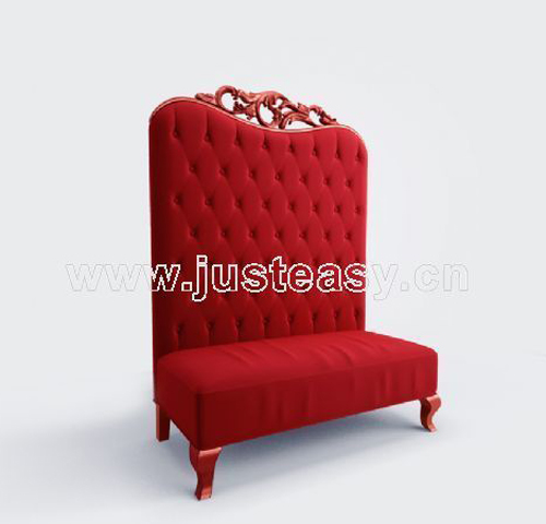 Bao Yang sofa chair, red chair, sofa chair, single chair, Eu