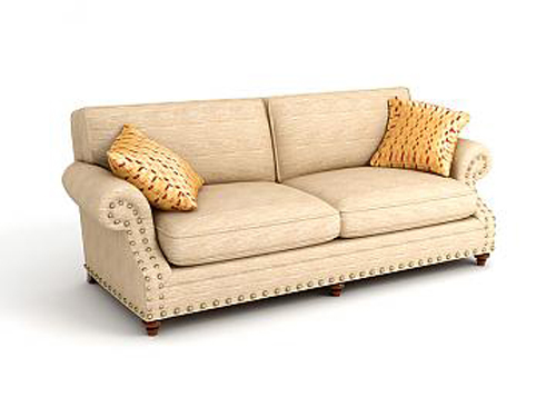 Jane European double sofa fabric, double sofa, fabric sofa,