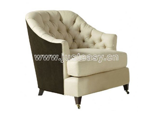 Sofa, fabric, European furniture, single sofa, sofa chair, m