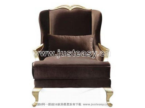 Single European sofa, fabric sofa, double sofa, furniture, E