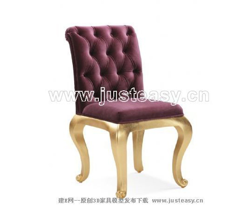 New Baroque chairs, soft, European furniture, solid wood fur