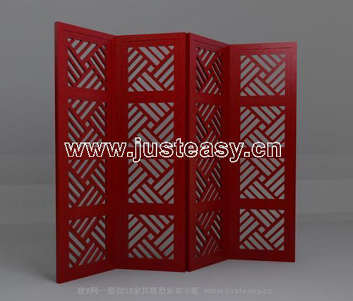 Screen series, Chinese component, screen, door-type screen,