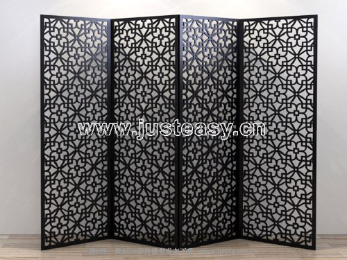 Screen series, diamond-type carved screens, Chinese furnitur