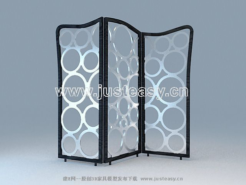 Screen series, circular pattern screen, modern furniture, pe