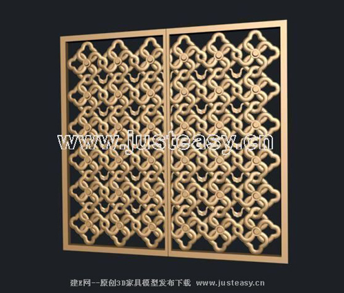 Chinese window grilles, wood carving, retro furniture, furni