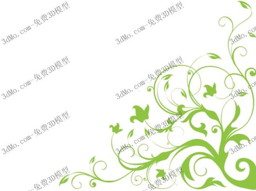 Ivy vine long wall painting, painting, wallpaper, wallpaper,