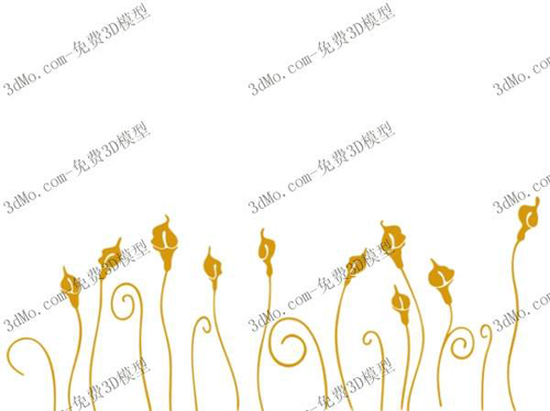 Yellow grass, plants, paint, wallpaper, wallpaper, pattern,
