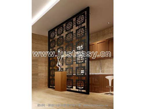 Chinese classical screen, wood, wooden, vintage, Chinese, fu