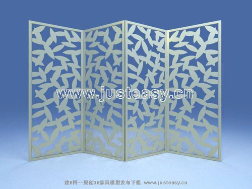 Leaf pattern screen, screens, furniture, fashion furniture,