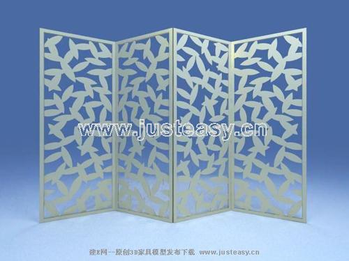 Leaf pattern screen, screens, furniture, fashion furniture,