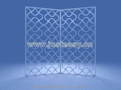 Wave pattern screens, furniture, screens, furniture, fashion