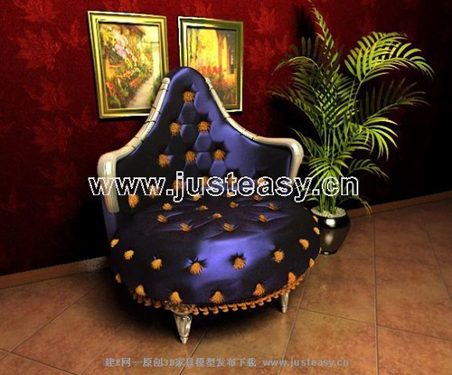 European luxury single sofa chair, sofa, fabric sofa, chair,