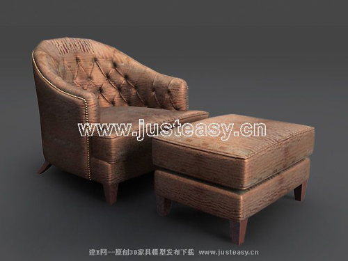 European Brown single sofa, single sofa, sofa chair, sofa, s