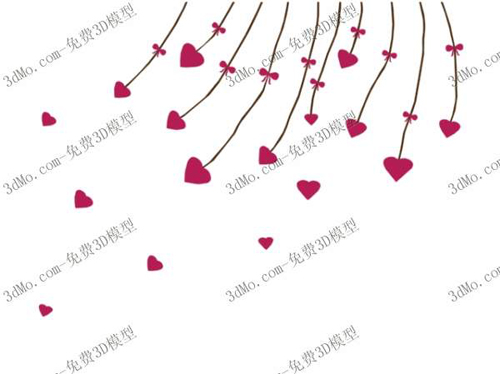 Love meteor shower wall painting, wallpaper, wallpaper, deco