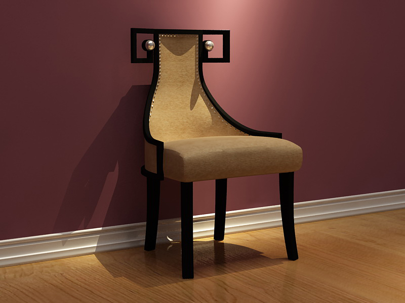 Alternative personality, and the chair, single chair, wooden