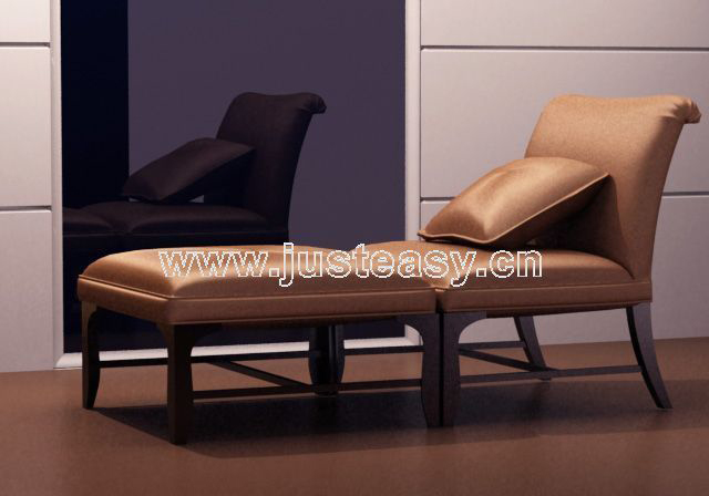 Soft leather chair, chair, single chair, recliner chairs, le
