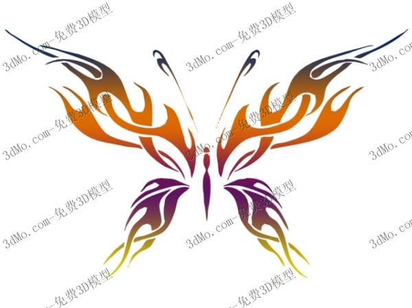 Butterfly wall murals, wall and wall paint, adornment, wallp