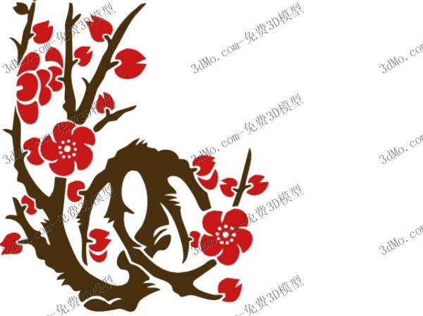 Link toThe plum blossom wallpaper, the flowers, the mural, the wal