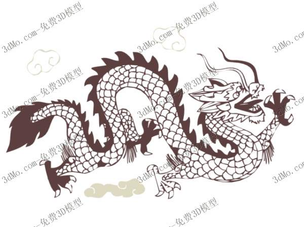 The dragon chart wallpaper, the dragon, the Chinese element