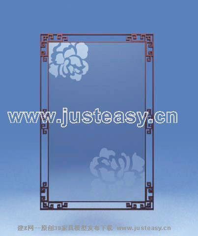 Window frames, door frames, picture frames, wooden, Chinese,